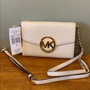 NWT MICHAEL Michael Kors White Crossbody Bag